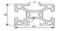 Aluminium Square Tube Profile