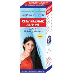 Arogyadham Kesh Rakshak Hair Oil, Packaging Type: Bottle, for Personal