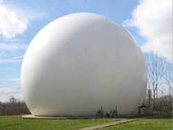 Biogas Balloon For Gas Storage