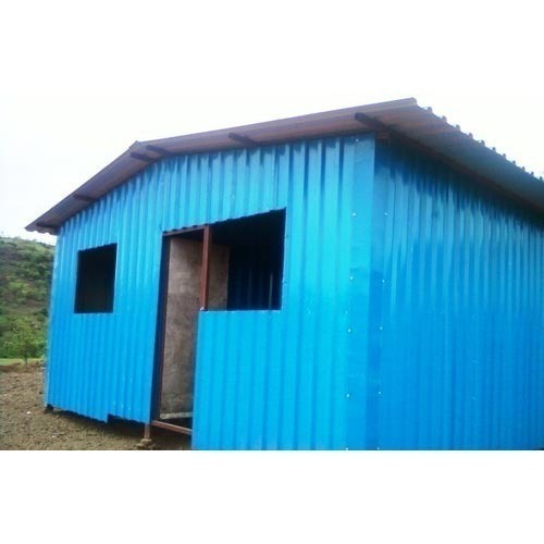 Wonder Structures Color Coated Tin Shed
