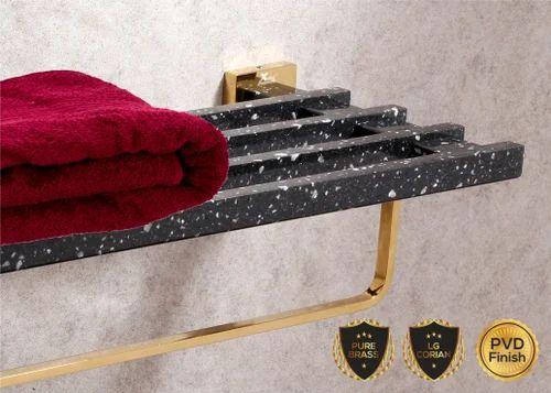 LG Corian Towel Rack
