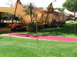 Modern Bedouin Stretch Tents