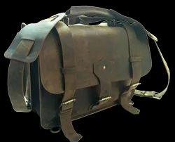 Buffalo Leather Shoulder Bag Cum Backpack