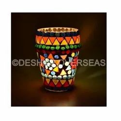 Mosaic Color Candle Votive