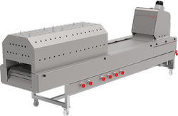 Ms, Ss Conveyor Type Roti Making Machine, Capacity: 500.0 Chapatis per hour, Automation Grade: Semi-Automatic