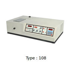 UV VIS Digital Spectrophotometer