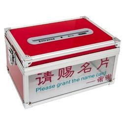 Aluminium Name Card Drop Box