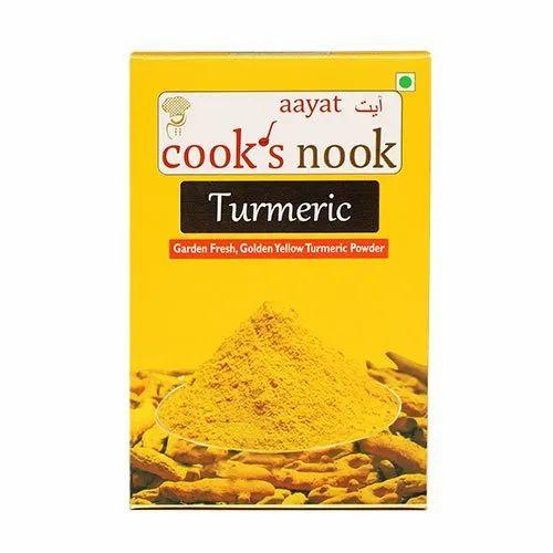 Cooks Nook Turmeric Powder, Packaging Type: Box