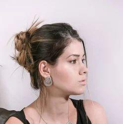 Trendy Modern Silver Plated Women Earrings