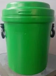 20 Liter Virgin House Hold Vertical Waste Bin