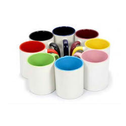Inside Color Sublimation Mugs