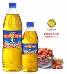 Appu Cooking Groundnut Oil, Packaging: 100 & 200 mL