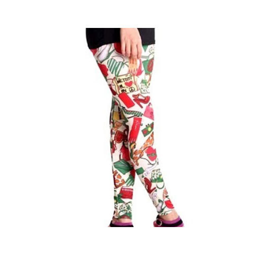 03dbfc9848 Cotton Straight Fit Ladies Printed Legging, Size: Large, Rs 100 ...