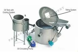 Diesel Fired Circular Batch Fryer