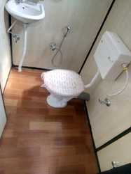 M.S. Portable Toilet Cabin