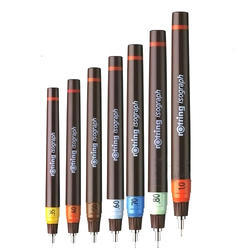 Brown Plastic Rotring Pen, For Writing, Packaging Type: Box