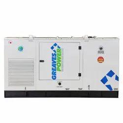 Greaves Power 200 kVA Diesel Engine Generator