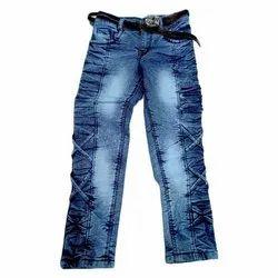 Party Wear Kids Girls Denim Jeans