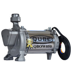 QUBE Single Phase 0.5 HP Open Well Submersible Pump, Warranty: 12 months