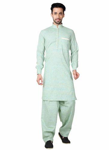 9412ffec83 Cotton Pathani Kurta Pajama, Size: 38-44, Rs 2499 /piece, Surat ...