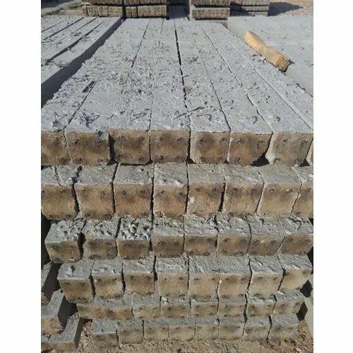 Plain Cement Concrete Fencing Pole