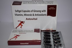 Antioxidants With Ginseng Multivitamin & Multimineral Softgel Capsules