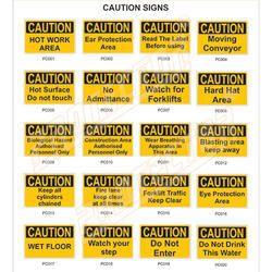 Caution Safety Signage