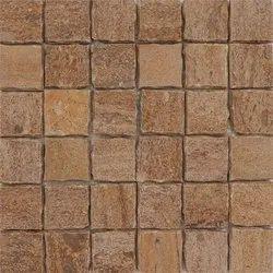 Capstona  Stone Mosaics Broken Gold Tiles