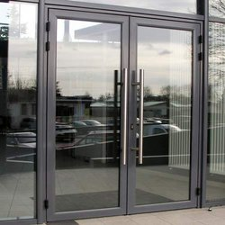Modular Aluminium Glass Door