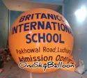 School Advertisement Sky Balloon