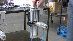 Aerosol Valve Cutting Machine