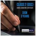 Class 2 Signing Digital Signature 3 Years