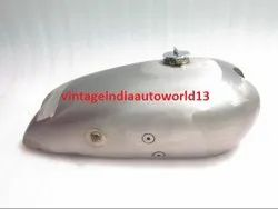New Norton Model 18 Hand Gear Raw Petrol Tank 1930's With Cap