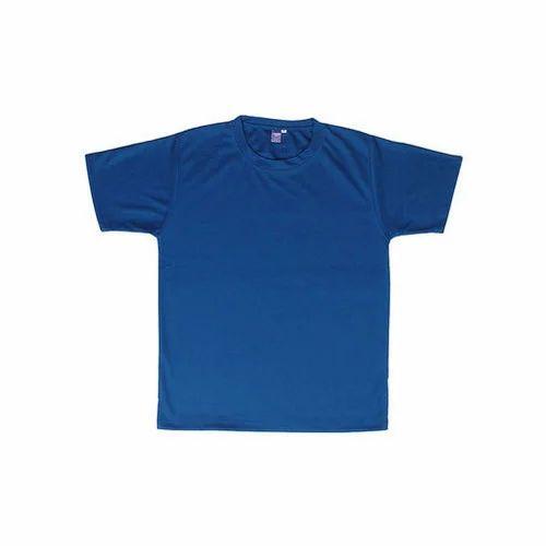 d8a99922af4 Blue Cotton Corporate T-Shirt