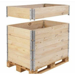 Pine Wood Fumigated Packaging Box Pine Wood Packing Box प इनव ड ब क स M A Shah Enterprises Palghar Id 19776796533