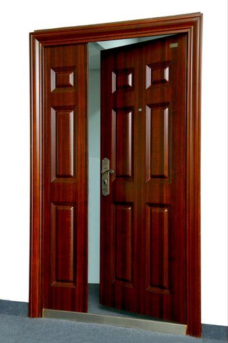 Standard Brown Galavanised Iron Entrance Door, For Home, Size/Dimension: 2050*960*50 Mm
