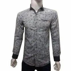 Casual Wear Men Printed Full Sleeves Shirt