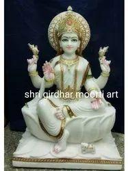 Marble God Laxmi Murti