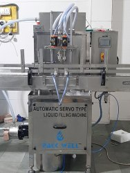 Automatic liquid hand sanitizer filling machine