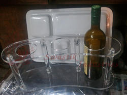 Acrylic Bottle Holder