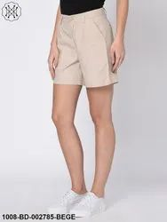 Twill Shorts For Women