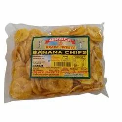 Sangam Banana Namkeen Chips, Pack Size: 150 Gram, Pack Type: Packet