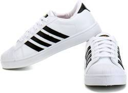 Sparx White Canvas Shoes at Rs 700/pair