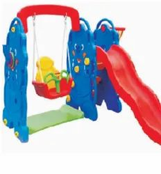 ELEPHANT SLIDE WITH SWING