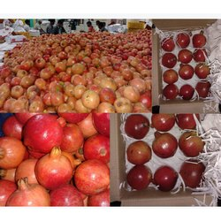 A Grade Fresh Pomegranate, Packaging Type: Carton, Packaging Size: 20 Kg