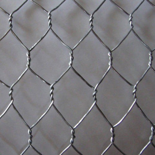 SS304 Hexagonal Wire Mesh, Thickness: 2.0-4.0mm