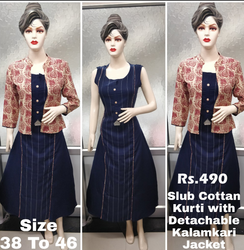 Ladies Kurti Jacket