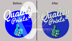 High Level Monster Embroidery Digitizing Service