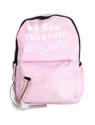 Pink Men And Women Backpack