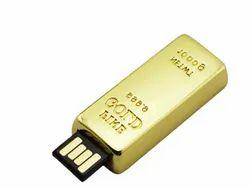 Gold Bar USB Pendrive